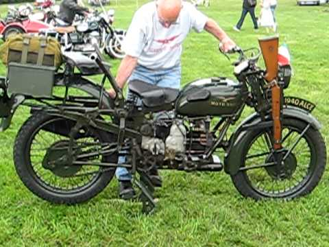 metaxeirismena moto - From 1939 to 1943 6390 were built for the Italian army.The rear handlebars were to allow the passenger to hold on and fire a rifle or submachine gun such as...