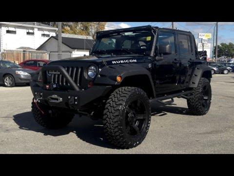 Jeep wrangler rubicon lifted фотка
