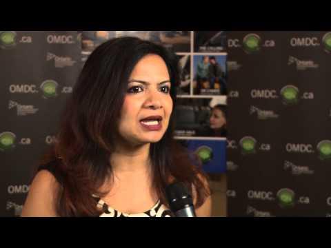 Rama Rau at OMDC's Celebrate Ontario during TIFF 2014
