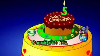Feliz Cumpleaños infantil para niños 2017  cancion infantil feliz cumpleaños.