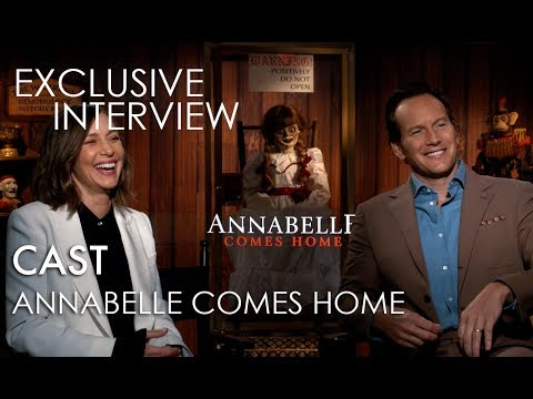 ANNABELLE COMES HOME Exclusive Interviews: Cast