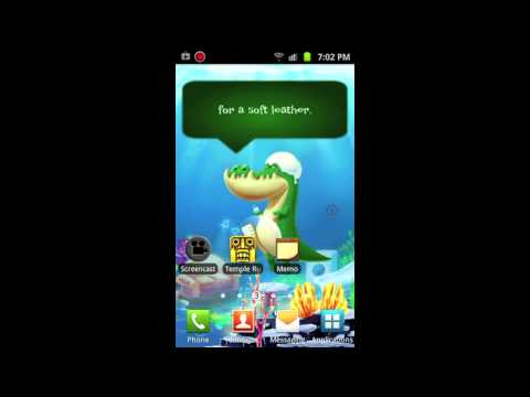 Video of Alligator Jack Live Wallpaper