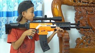 Video NERF GUN AK-47 MP3, 3GP, MP4, WEBM, AVI, FLV September 2019