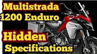 3. Ducati Multistrada 1200 Enduro Hidden specifications