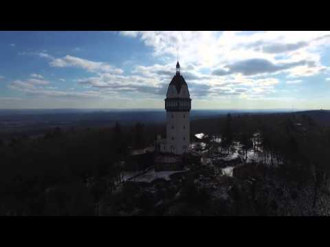 VIDEO: Drone At Heublein Tower