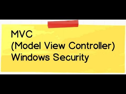 how to provide security in mvc3