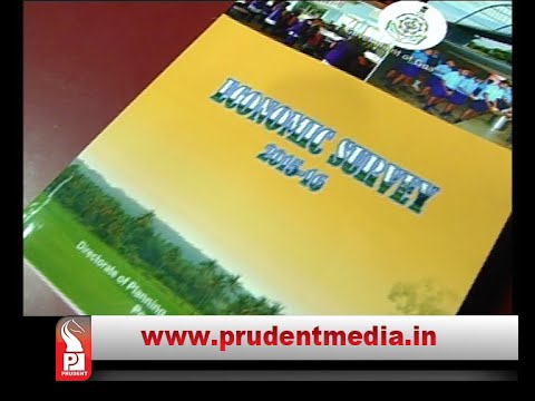 Government has tabled Economic Survey 2015 16 report on the opening day of the Monsoon session of the Legislative Assembly