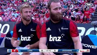 Lions v Crusaders Rd.7 2018 Super Rugby video highlights