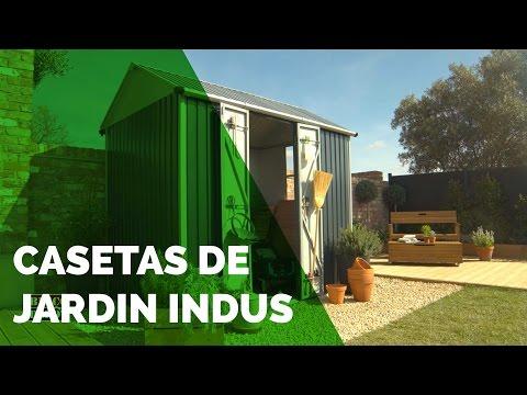 Caseta metal indus casetas de jard n exterior y jard n - Casetas de jardin brico depot ...