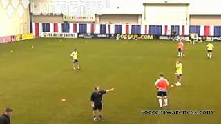 Wayne Harrison SA: My favorite Conditioned Game Forcing Movement OFF & AWAY from the Ball P1