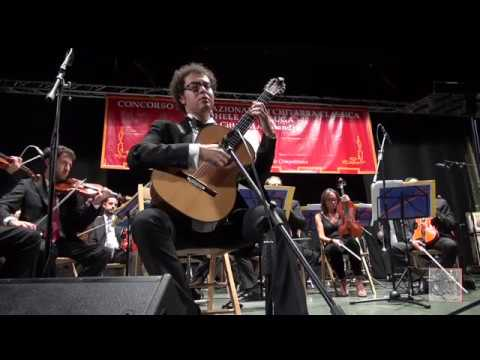 Andrea De Vitis 2 prize winner at the 49th M.Pittaluga guitar competition