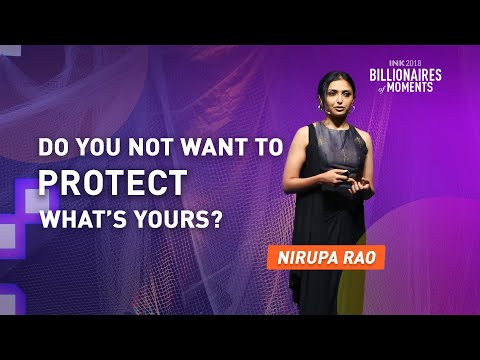 Nirupa Rao: Do you not want to protect what's yours?