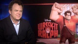 John C. Reilly Talks 'Wreck-It Ralph'