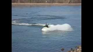 8. Jet Ski Kawasaki 800 SXR Freeride 2008 Jetski