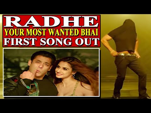 Radhe Your Most Wanted Bhai first song Seeti Maar out