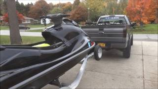 10. 2014 Yamaha Vxr Walkaround before winter