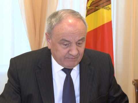 Moldovan president meets Czech senate's vice president