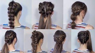 оформление прически на длинные волосы