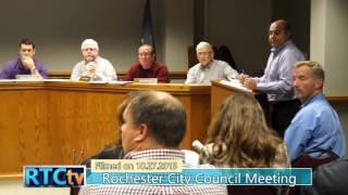 Public Meeting- Rochester City Council
