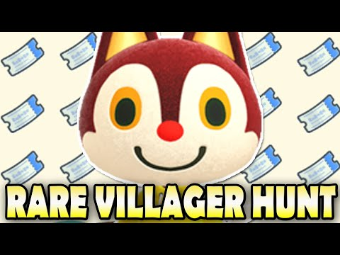 ✈ WE SPENT OVER 100 NMTs! RARE Villager Hunt for RUDY In Animal Crossing New Horizons! Day 4!