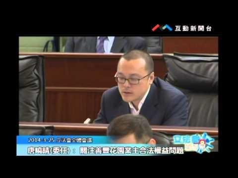 唐曉晴20140325立法會