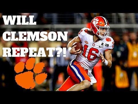CLEMSON REPEATS AS CHAMPIONS?! - Analysis Of 2019 Football Schedule