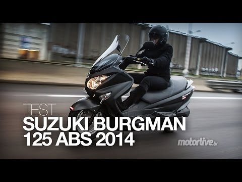 TEST | SUZUKI BURGMAN 125 ABS 2014, mieux mais plus cher !