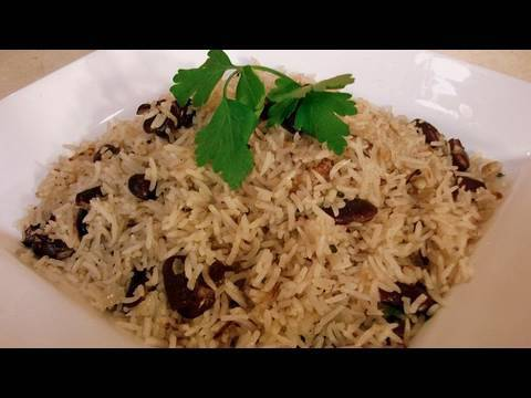 Haitian Rice with Red Beans