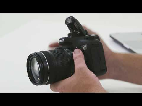 Canon EOS 7D Mark II + Wi-Fi Adapter with 18-135mm IS USM Lens video