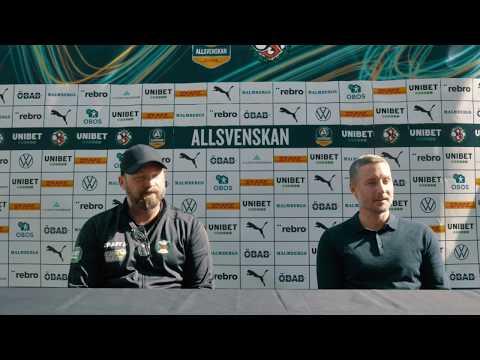 Presskonferens: ÖSK – Varbergs BoIS