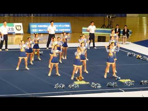 千葉明徳中学校 HOPPERS Jr. 関東チアリーディング選手権2016