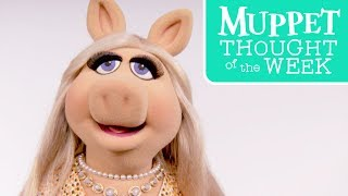 Every Monday, The Muppets bring you their wise, uplifting, and downright hilarious Thought of the Week. Today, Miss Piggy shares her favorite things in life.Subscribe for all new videos from The Muppets! ► http://di.sn/6002BJA1nWatch more of the best moments, music videos, and laughs from The Muppets! ► http://di.sn/6007BJ79RGet more from The Muppets!Disney: http://disney.com/muppetsFacebook: https://www.facebook.com/MuppetsTwitter: https://twitter.com/TheMuppetsInstagram: http://www.instagram.com/themuppetsWelcome to the Official YouTube channel for The Muppets! This channel is home to your beloved group of Muppet friends: Kermit the Frog, Miss Piggy, Fozzie Bear, Gonzo the Great, Animal, Beaker, The Swedish Chef, and more! Subscribe for some of your favorite and best film and television clips from The Muppets, as well as music covers and brand new comedy sketches.Check out exclusive Muppet parodies, Muppet music videos, Muppet song covers, comedy sketches, and more! Join in the fun with original Muppet comedy shows, TV promos, and charity PSAs.