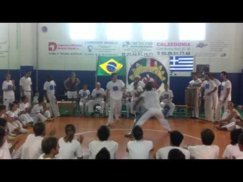 Capoeira Sou Eu - Troca de cordao estagiario Mola - Milan 2011