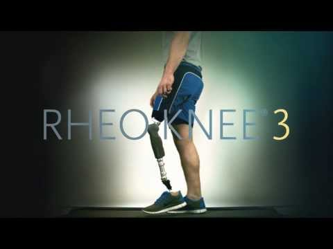 Introducing: RHEO KNEE® 3 In the 10 years since the original RHEO KNEE made its debut,