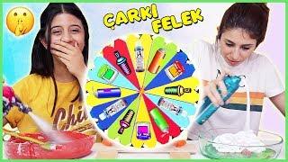 Çarkıfelekten Ne Çıkarsa Slime Challenge Çarkta Slaym Malzemeleri Eğlenceli Çocuk Videosu Dila Kent