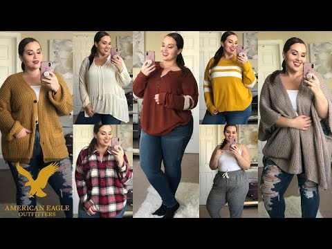 American Eagle Outfitters FALL Try On HAUL 🍂