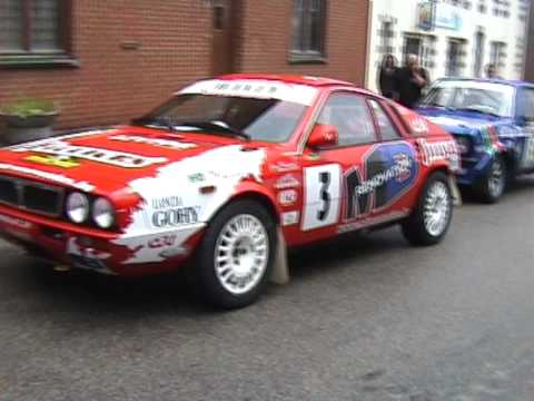 Bianchi Historic Rally 2010