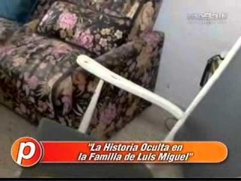 La historia oculta en la familia de Luis Miguel