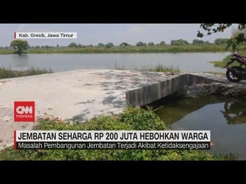 Jembatan Seharga Rp 200 Juta Hebohkan Warga видео