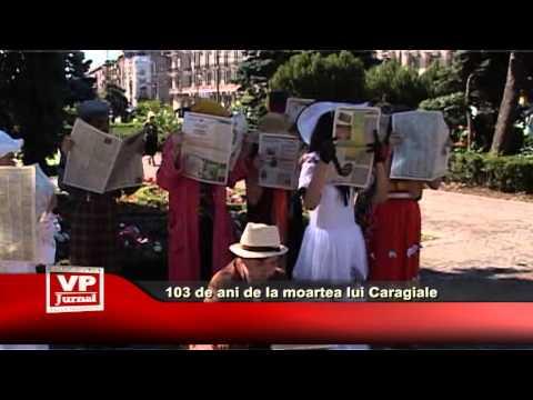 103 de ani de la moartea lui Caragiale