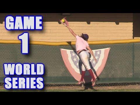 WORLD SERIES GAME 1! | On-Season Softball League