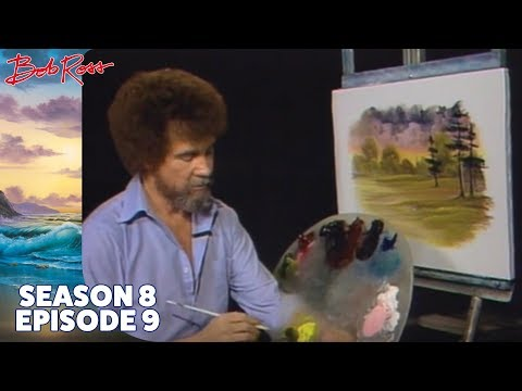 Bob Ross - Majestic Pine (Season 8 Episode 9)