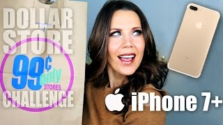 $1 DOLLAR STORE MAKEUP CHALLENGE + iPhone 7 GIVEAWAY by Glam Life Guru