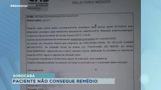 Paciente com câncer de pulmão precisa de medicamento que custa R$10mil