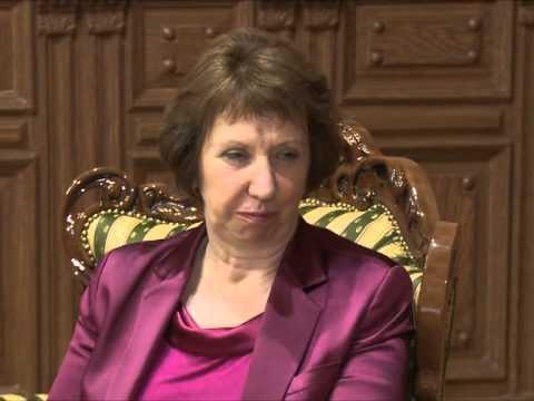 Nicolae Timofti a avut o întrevedere cu Catherine Ashton, Înaltul Reprezentant al UE pentru afaceri externe