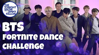 Video BTS and Jimmy Fallon Do the Fortnite Dance Challenge MP3, 3GP, MP4, WEBM, AVI, FLV Januari 2019
