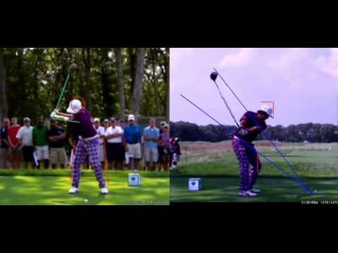 Professional Golf Swing Analysis: Rickie Fowler