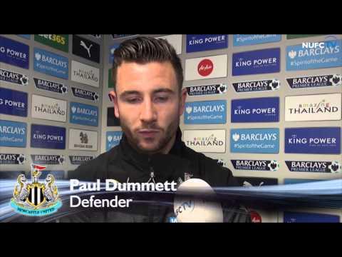 Video: John Carver and Paul Dummett speak after Leicester loss
