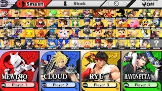 Super Smash Bros Wii U - How to Unlock All Characters