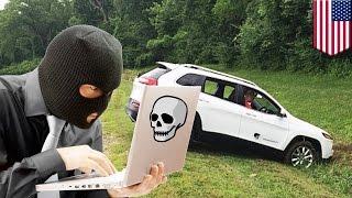 車のシステムをハッキング 遠隔操作の危険性